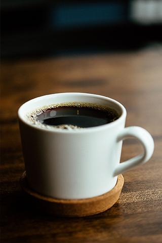 Roast House Bruncheonette Coffee Blend in a White Mug