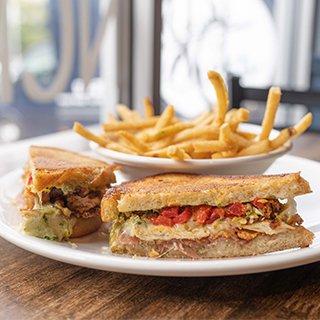 Bruncheonette Spokane chicken fried sandwich