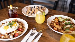 Bruncheonette Spokane creative brunch dishes