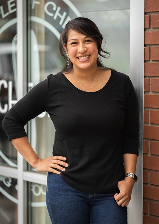 Joile Forral Owner and Chef of Bruncheonette brunch in Downtown Spokane